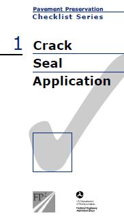 Crack Seal Checklist