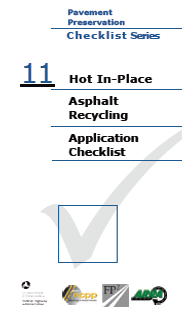 Hot In-Place Recycling Checklistpdf