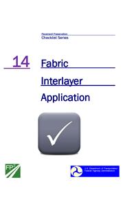Fabric Interlayer Checklist