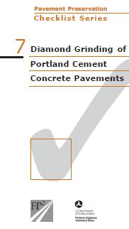 Diamond Grinding Concrete Checklist